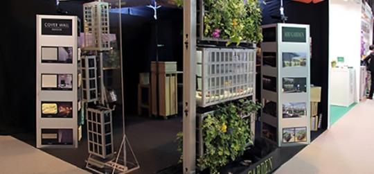 Sistema innovador de jardines verticales y huertos urbanos