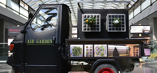 Innovation in the vertical garden sector, providing a new solution in green walls