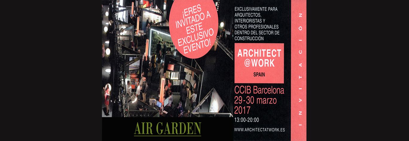 invitacion architect work barcelona