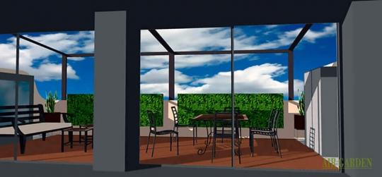 Jardines verticales para decorar nuestro hogar