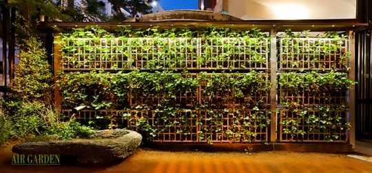 Design of vertical gardens in facades, walls, terraces, interiors ... that your imagination has no limits.