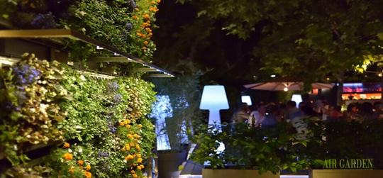 Criterios para la elección de sistemas de riego en jardines verticales