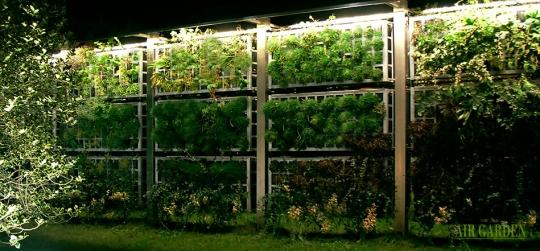Valla para jardines minimalistas diseño