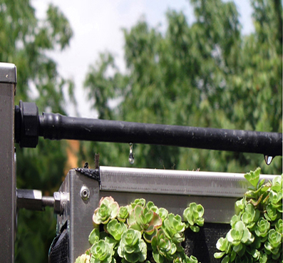 Sistema riego jardin vertical air garden ayudamos al for Sistema de riego jardin vertical