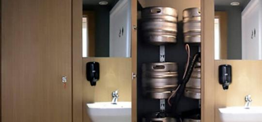 jardineria vertical soportes barriles cerveza