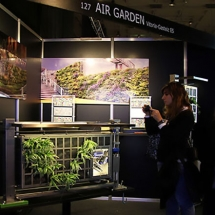 Vertical modular gardening systems or green walls