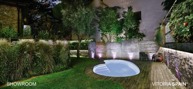 Diseño y plantación de un jardín vertical.
