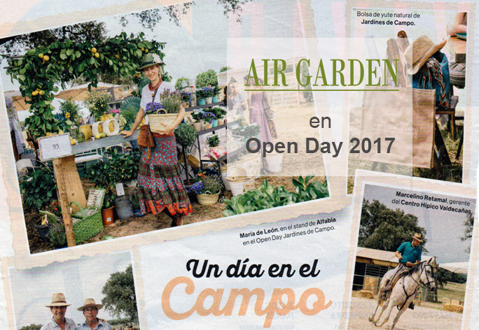 AIR GARDEN EN OPEN DAY 2017 JARDINES DE CAMPO