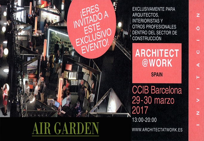 Invitacion Architect work