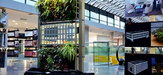 Nous avons innové avec des plantes pour faire une architecture plus durable