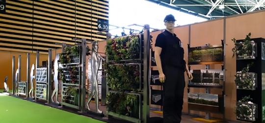 Murs verts et façades, jardins verticaux