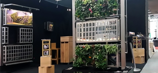 como hacer jardin vertical