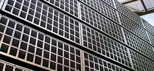Arquitectura y diseño de jardines verticales.