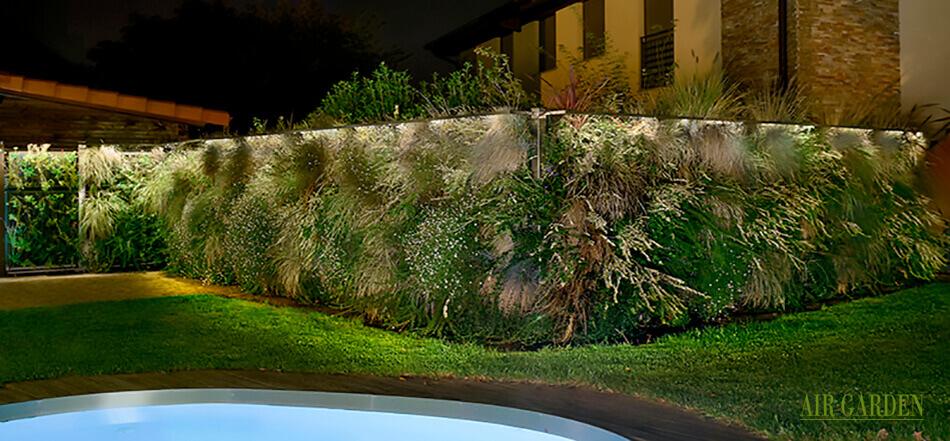 Separar parcelas, terrazas y ambientes de una forma muy original
