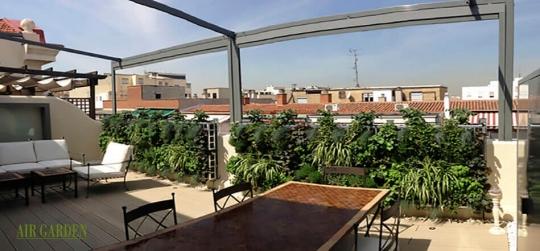 Como montar un jardín en la terraza
