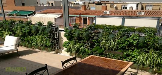 Jardines verticales elegantes y llenos de diseño