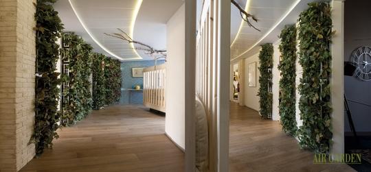 Mejorar el confort termohidrogenico en ambientes cerrados, a traves de la implementacion de jardines verticales.