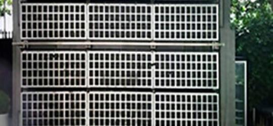 Selección del sistema de ajardinamiento vertical.