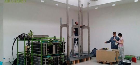 Mucho más que un jardín vertical. Sistema modular de plantación vegetal vertical.