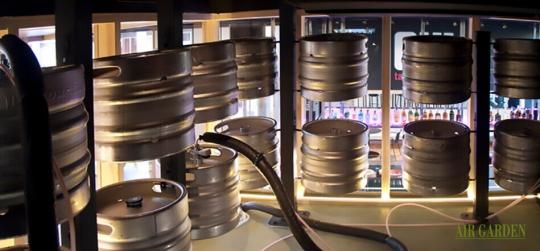 Soporte para de barriles cerveza