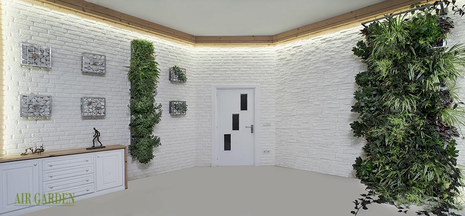 Los jardines verticales reducen la ventilacion y actuan como bio filtro del aire
