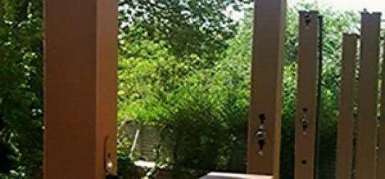 Système de jardinage vertical modulaire et amovible