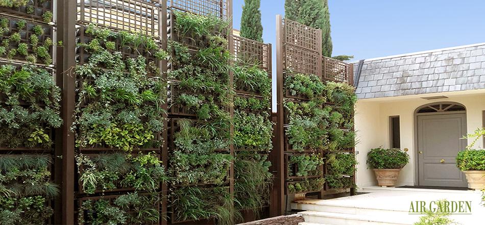 Incorpora un jardin vertical o techo verde a tu negocio