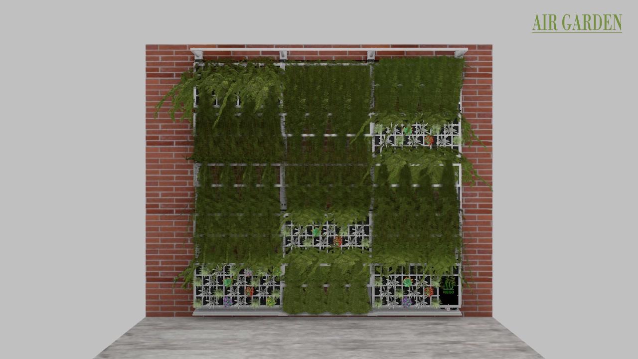 Jardines Verticales Sistema Enredadera